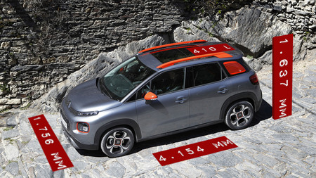 Citroen C3 Aircross Dimensiones