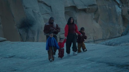 Kim Kardashian y sus cuatro hijos protagonizan el último videoclip de Kanye West