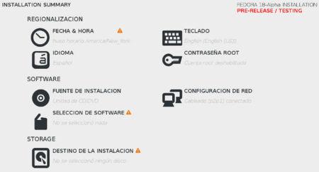 Fedora 18 Alfa: el nuevo instalador simplificado y otras novedades