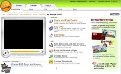 One True Media, otra herramienta online para la creación de montajes audiovisuales