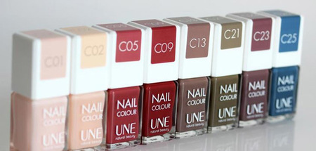 Nail Colour Une