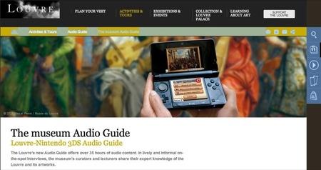 La Nintendo 3DS se utilizará como audioguía en el Museo del Louvre
