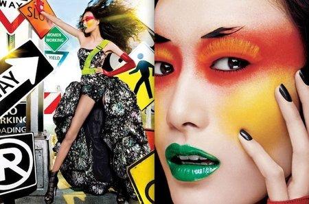 Calendario Maybelline 2012: explosión de color en tu maquillaje