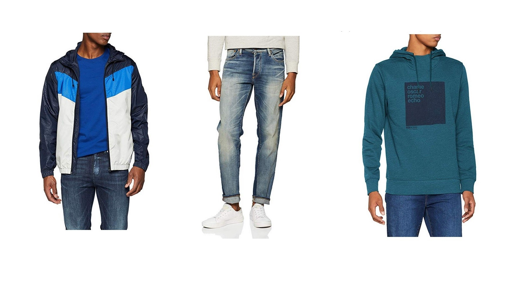Rebajas de Jack Jones en Amazon  pantalones, chaquetas y sudaderas con  descuentos de más del 50% 4fb33f9c06