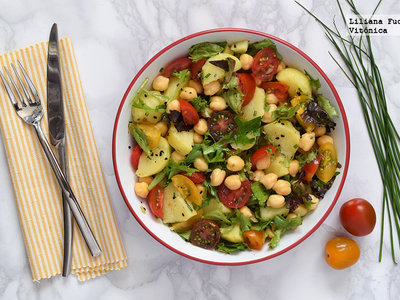 Tu dieta semanal con Vitónica: menú ideal para yoguis