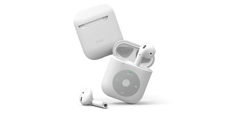 La nueva funda de Elago convierte los AirPods en la rueda de control de un iPod