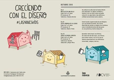 Talleres infantiles en Valencia para enseñar diseño y desarrollar la creatividad