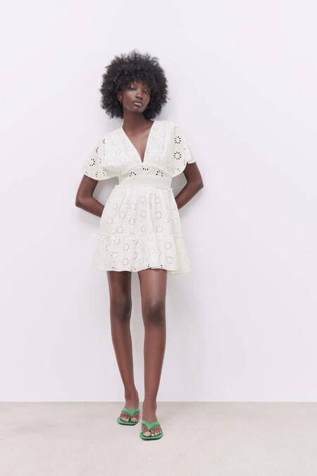 Vestido Blanco De Zara 13