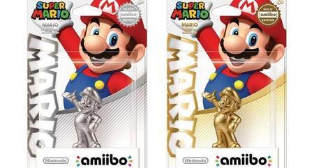 Nintendo lanzará ediciones especiales del amiibo de Mario