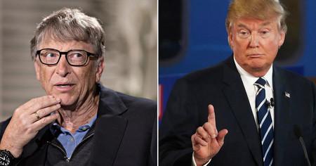 Bill Gates ha tenido que explicarle a Donald Trump la diferencia entre VIH y VPH