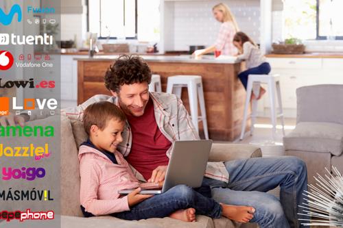 Convergentes familiares: así quedan los mejores combinados con fibra, dos líneas móviles y TV opcional