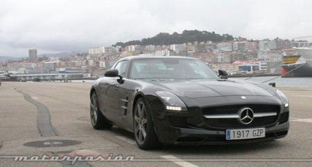 Mercedes SLS AMG, prueba en carretera (parte 2)