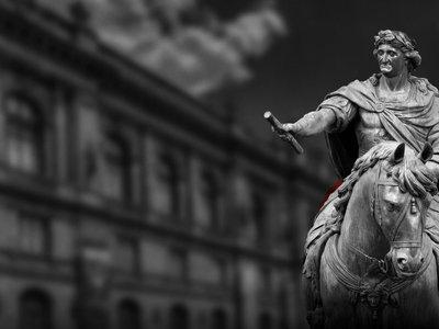 Concluye el INAH la restauración de 'El Caballito' de la Ciudad de México