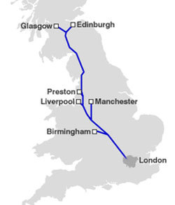 UK High speed rail
