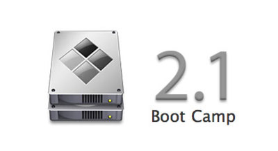 Actualización de Boot Camp a la versión 2.1