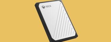 Amplía enormemente el almacenamiento de tu XBOX One con este disco duro externo WD a precio mínimo histórico