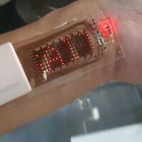 Una pantalla OLED pegada a la piel: así son los 'wearables' flexibles en los que trabaja Samsung