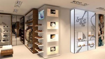 Geox abre una nueva y gran tienda en Madrid