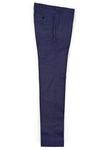 Pantalon azul marino Mango