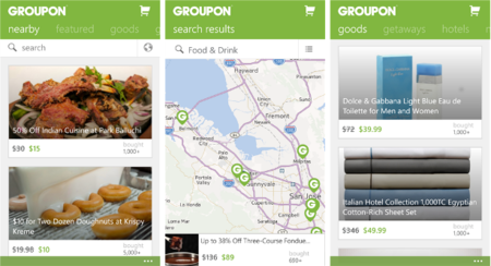 Groupon App Windows Phone