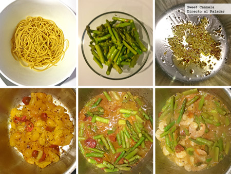 Preparacion Spaghuetti