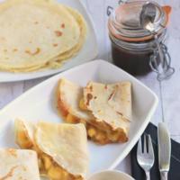 Paseo por la gastronomía de la red: crêpes dulces para disfrutar el verano