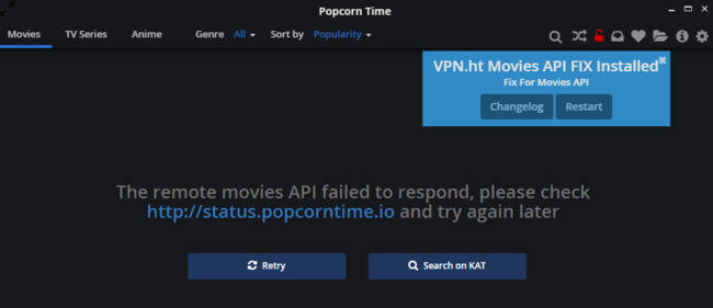 Popcorn Time - Watch Free Movies and
