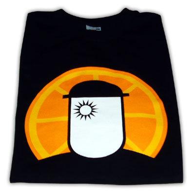 Camiseta Mech Orange