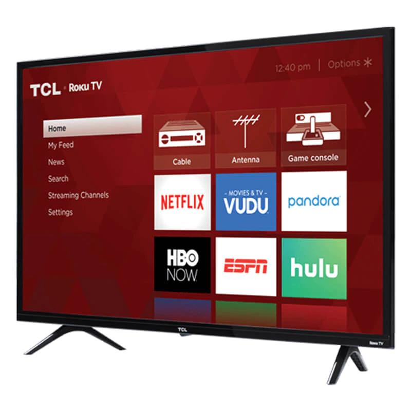 Smart TV TCL de 32 pulgadas con Roku TV