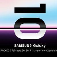 Los Samsung Galaxy S10 ya tienen fecha de presentación oficial: 20 de febrero