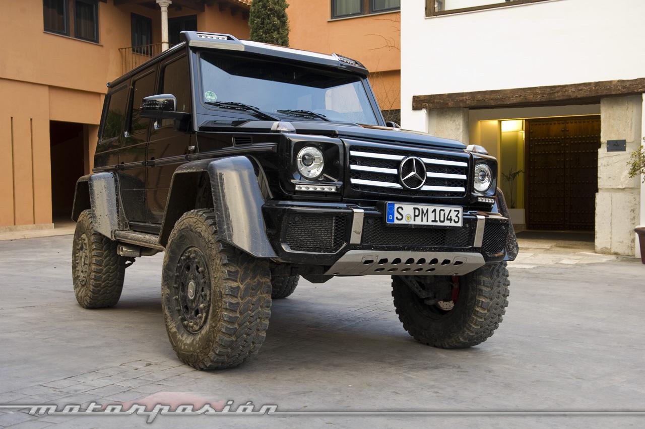 Foto de Mercedes-Benz G 500 4x4², toma de contacto (120/127)