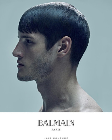 Balmain Hair Couture Men Fall Winter 2016 Campaign