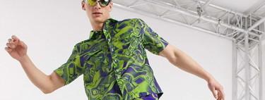 Los prints más coloridos y molones de la temporada los propone ASOS en estas cinco camisas