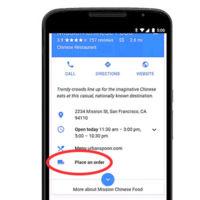 ¿Qué comida pedir hoy? Google te lo pone fácil y te dejará hacer pedidos desde el buscador