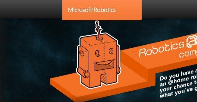 Microsoft Robotic portada