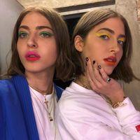 Las gemelas Abu Khadra apuestan por maquillajes muy atrevidos (y aptos para muy pocas)