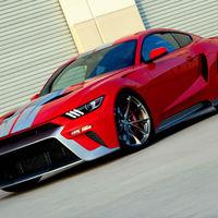 """Zero to 60 Designs """"disfrazó"""" un Mustang de Ford GT para crear el GTT"""