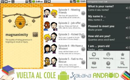 Las mejores aplicaciones Android vuelta al cole: idiomas y traductores