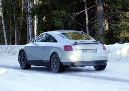 2006 Audi TT Spy Photos