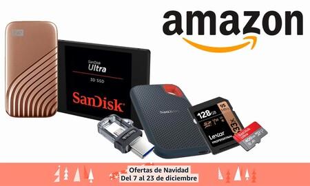 Más ofertas en almacenamiento SanDisk y Western Digital en Amazon: regalar GBs estas navidades sale más barato con estos discos duros y tarjetas de memoria