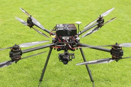 Dron de vigilancia desarrollado por la Universidad Iberoamericana para la Policía Federal