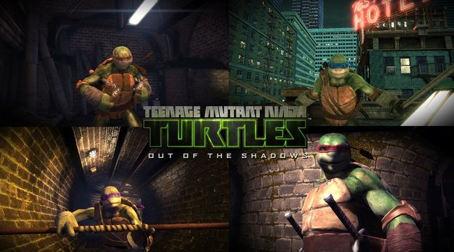 Teenage Mutant Ninja Turtles: desde la sombras