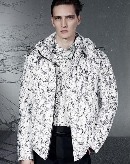 Sandro París se adentra al digital print en su colección de invierno este 2014