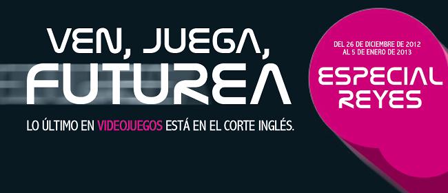 videojuegos El Corte Inglés promoción Reyes