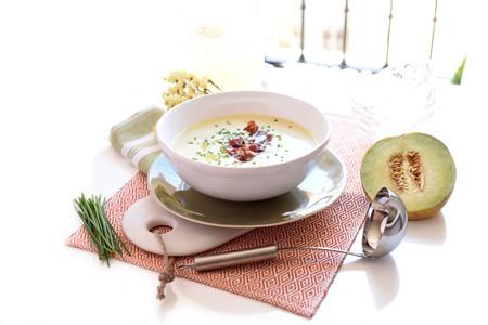 Sopa De Melon Con Jamon Vc18