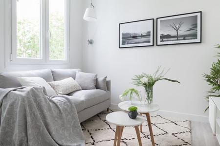 Un piso pequeño en San Sebastián que se abre a la luz sin renunciar al estilo nórdico y elegante