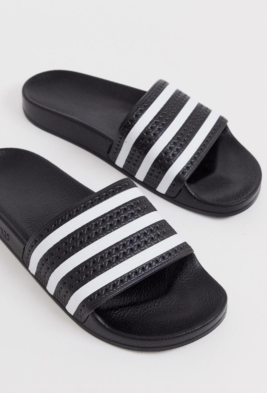 Sandalias en negro Adilette de adidas Originals