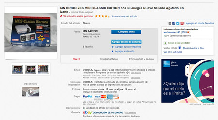 Nintendo Classic Mini Nes Ebay 01