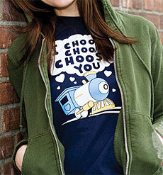 San Valentín: I Choo Choo Choose You T-Shirt