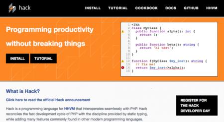 Facebook, de PHP a Hack